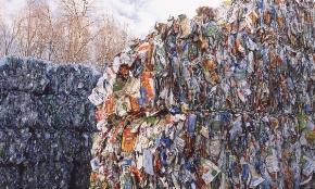 Recycled cartons bales mn