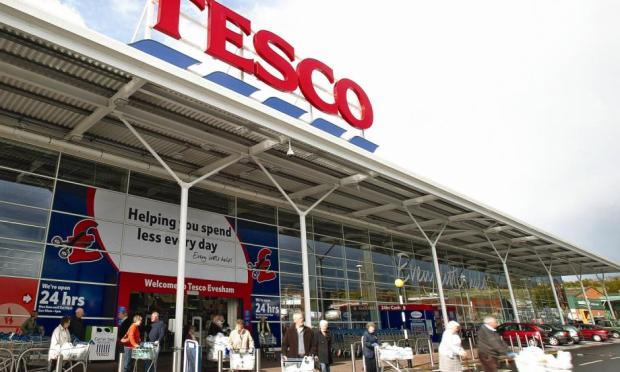 Tesco's UK profits fall for first time in two decades