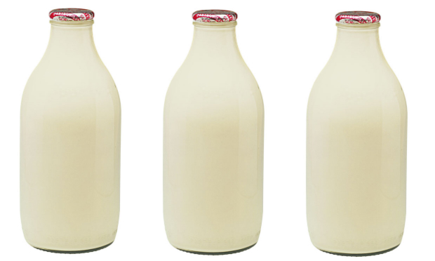Food Network Milk Bottles